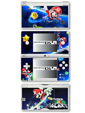 Super mario vinyl skin sticker pour Nintendo DSi XL