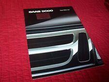 Catalogue /  Brochure SAAB 9000 CD 1988 //