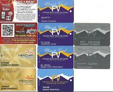 Central City Co Casinos, 32 Different Slot & Promotion Cards