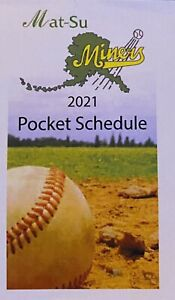 2021 Mat-Su Miners Schedule ⚾️ Cool Minor League Baseball Sked ⚾️