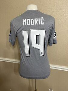 Real Madrid CL Modric Croatia 🇭🇷 6 Adizero Football Player Issue Shirt  Jersey