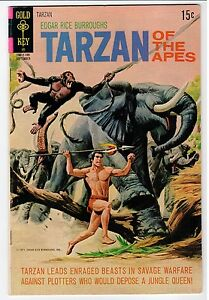 Gold Key TARZAN OF THE APES #203 - VG 1971 Vintage Comic
