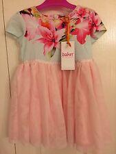 Ted Baker Baby Girls Floral Tulle Dress. Designer 18-24 Months. BNWT
