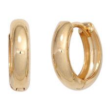 Damen Creolen rund 333 Gold Gelbgold Ohrringe Goldohrringe Goldcreolen.