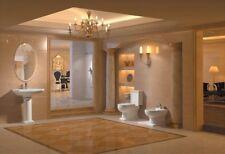 """Bathroom Pedestal Sink - Single Pedestal Sink - Modern Sink - Grassetto - 20.5"""""""