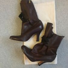 Brand New Vivienne Westwood Tan Ankle boots size 36