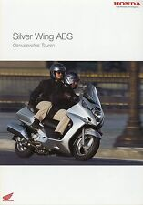 Prospekt 2003 honda Silver Wing ABS scooters 2 03 brochure scooter japón Asie