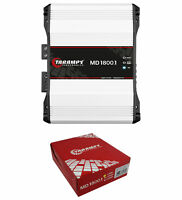 Taramps MD1800-1 Full Range 1 Ohm 1800W Amplifier Mono Car Audio