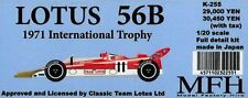 MFH Model Factory Hiro 1/20 LOTUS56B 1971 International Trophy Full detail kit