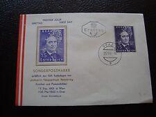 AUTRICHE - enveloppe 1er jour 25/5/1962 (B7) austria (Z)