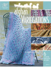 Afghan Variegations Varigated Crochet Patterns Annie's Attic Kim Guzman New