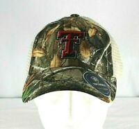 Texas Tech Red Raiders Adult Top of the World Realtree Sentury Camo Cap Snapback