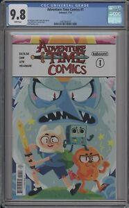 ADVENTURE TIME COMICS #1 - CGC 9.8 - BOOM! STUDIOS - 1462964010