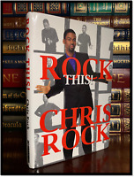 Rock This ✎SIGNED✎ by CHRIS ROCK Hardback 1st Edition First Printing SNL Legend