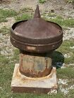 """Antique Roof Vent by E. Van Noorden BOSTON, MA ~ Maine Mill ~ 31""""H, 16.5""""/16.5"""""""