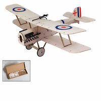 Micro SE5A Balsa Wood Biplane RC Building Model Plane Unassembled Airplane KIT