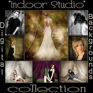 Digital Backdrops Top Selling Pro Photo Studio Drape Muslin Canvas Backgrounds G