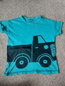 Boys Blue Truck Next T-Shirt  Age 4-5