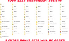 3000+ BABY ,BABIES COLLECTION  EMBROIDERY DESIGNS IN PES DOWNLOAD
