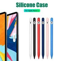 Soft Silicone Tablet Touch Pen Stylus Cover Protective Sleeve for Apple Pencil 1