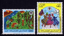 Algerien 742-43 **, Internationales Jahr des Kindes 1979