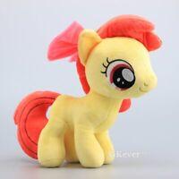 Apple Bloom Plush Horse Stuffed Animal Doll Toy 12'' Cute Teddy Birthday Gift