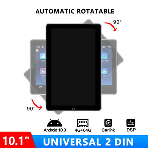 10.1 Inch Vertical Screen Double 2Din Android 10 Car Stereo Bluetooth 5.1 4G LTE