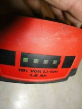 Hilti B 18/1.6 Ah Li-ion Battery Pack 18+ Volt