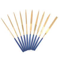 Diamond Needle File Set, Jewelers Hand Files Tool Kit for Metal Ceramic Stone