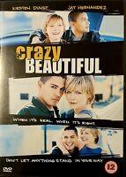 Crazy/Beautiful (DVD, 2002) Like New