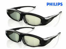 2 x Philips Active-3D Brille PTA518 3D Max PTA508 PTA507 PTA509 compatibility
