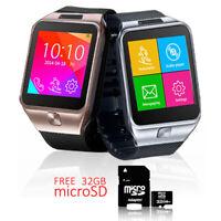 Indigi® 2-in-1 InterConvertible SmartWatch+Phone 3G+Bluetooth - Free 32gb SD