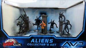 HorrorClix ~ ALIENS Collector's Set AVP Alien vs Predator new in box