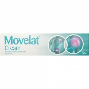 Movelat Cream 125g - Relief from Pain & stiffness - New Stock - Max 3 per sale