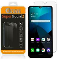 SuperGuardZ Tempered Glass Screen Protector Shield Guard Cover For LG Harmony 4