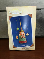 NEW 2004 Hallmark SWEET TOOTH TREATS #3 Angel Cookie Jar Ornament!