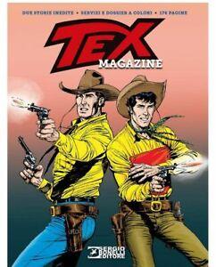 fumetto TEX MAGAZINE 2017 BONELLI