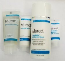 Murad Acne and Oil-Control Kit - 3 Steps - New Without Box - 4 Pieces