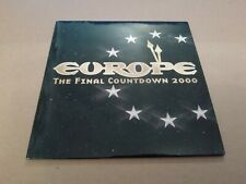 EUROPE * THE FINAL COUNTDOWN 2000 *  PROMO CD SINGLE EXCELLENT ( XPCD2430 )
