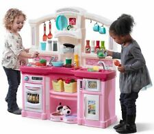 Kids Pretend Kitchen Play Set Toy Food Cooking Toddler Toys Gift Playset Gifts