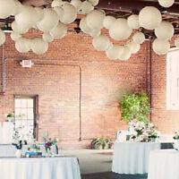 "10pcs/Lot 4""8""10""12""14""16"" White Chinese Paper Lanterns Wedding Party Home Decor"
