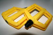 "Vp Freeride BMX MTB pédales jaune, 1 paire, 9/16"" NEUF"