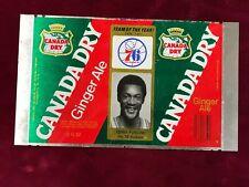 1977-78 Vintage Canada Dry Aluminum Proof TENNY FURLOW Philadelphia 76ers (SC1)