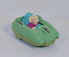"1990 Ma-Ti Linka Dr Blight 3"" Burger King Action Figure Flip-Car Captain Planet"