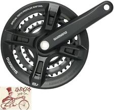 SHIMANO ALTUS M311 170MM 22T/32T/42T BLACK 7/8-SPEED MTB SQUARE TAPER BIKE CRANK