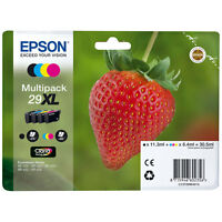GENUINE EPSON 29XL T2996 Strawberry Multipack Ink for XP-235 332 335 432 435