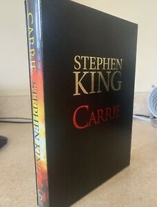 CARRIE STEPHEN KING 1st GIFT EDITION CEMETERY DANCE SLIPCASED (3000 Printed)