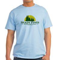 CafePress Shady Pines Logo Light T Shirt 100% Cotton T-Shirt (1920395398)