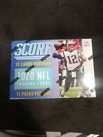 2020 Score Football sealed unopened Blaster Box 11 packs of 12 NFL cards