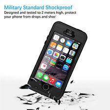 Outdoor Wasserdicht Fur IPhone 5 5S 5SE Schwarz Case Tasche Schutzhulle Cover DE